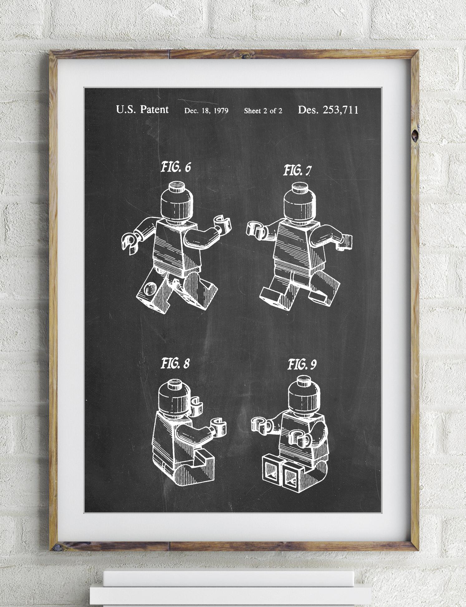 Lego Mini Figure Poster 381dd6d10596