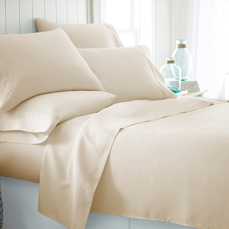 Becky Cameron 1800 Egyptian Collection Ultra-Soft 6-Piece Sheet Set