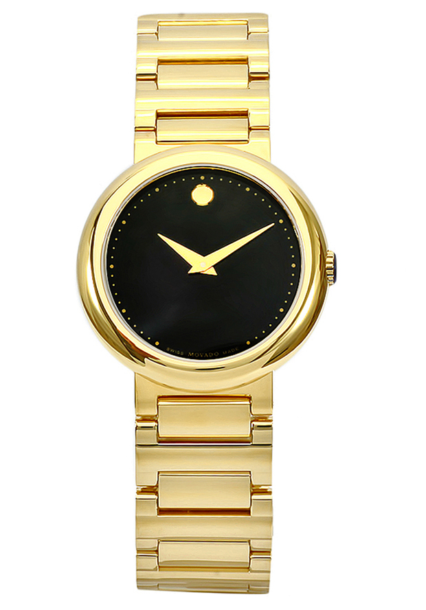 Movado Concerto Gold-Plated Stainless-Steel Women s Watch 0606420