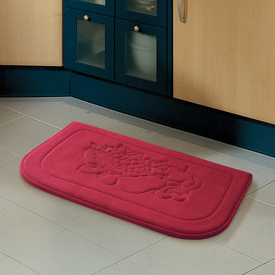 memory foam kitchen floor mat embossed chef memory foam 18x27 kitchen floor mat tanga 9139