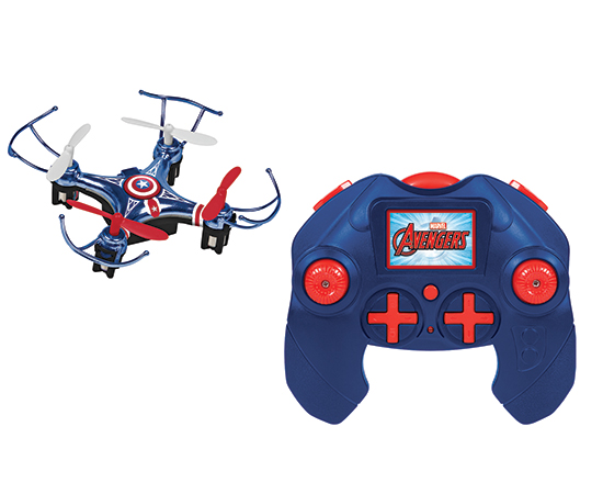 Marvel Avengers Captain America Micro Drone 4.5CH 2.4GHz RC Quadcopter ed2bf0634490