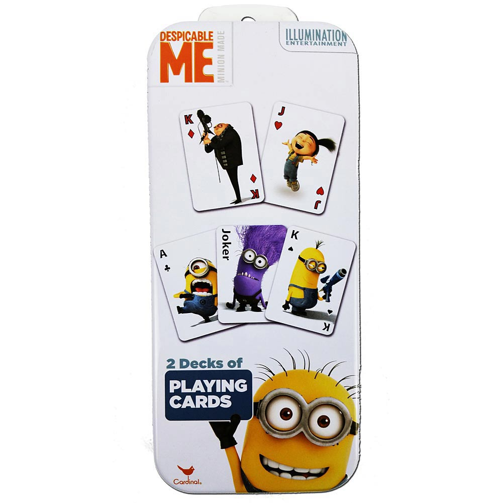 Despicable Me Minions Set Of 2 Card Decks Tanga