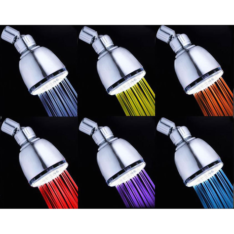Coby LED Color Changing Fixed Showerhead