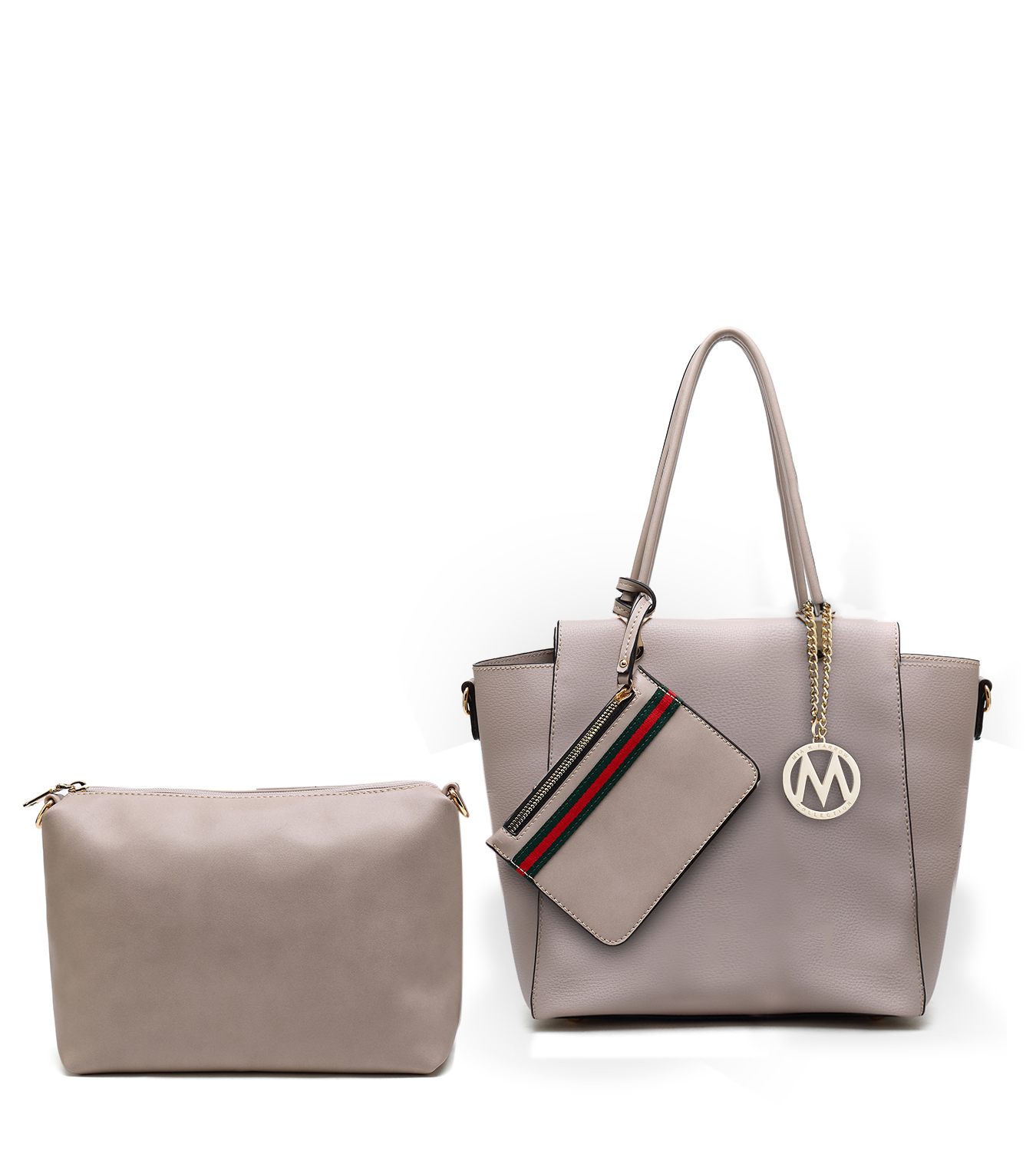 MKF Collection Lenie Tote Bag with Pouch /& Wristlet by Mia K.