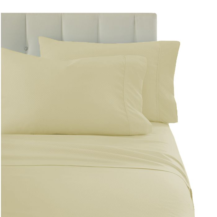 4-Piece Set Premium Ultra-Soft Wrinkle Free Solid Bed Sheets