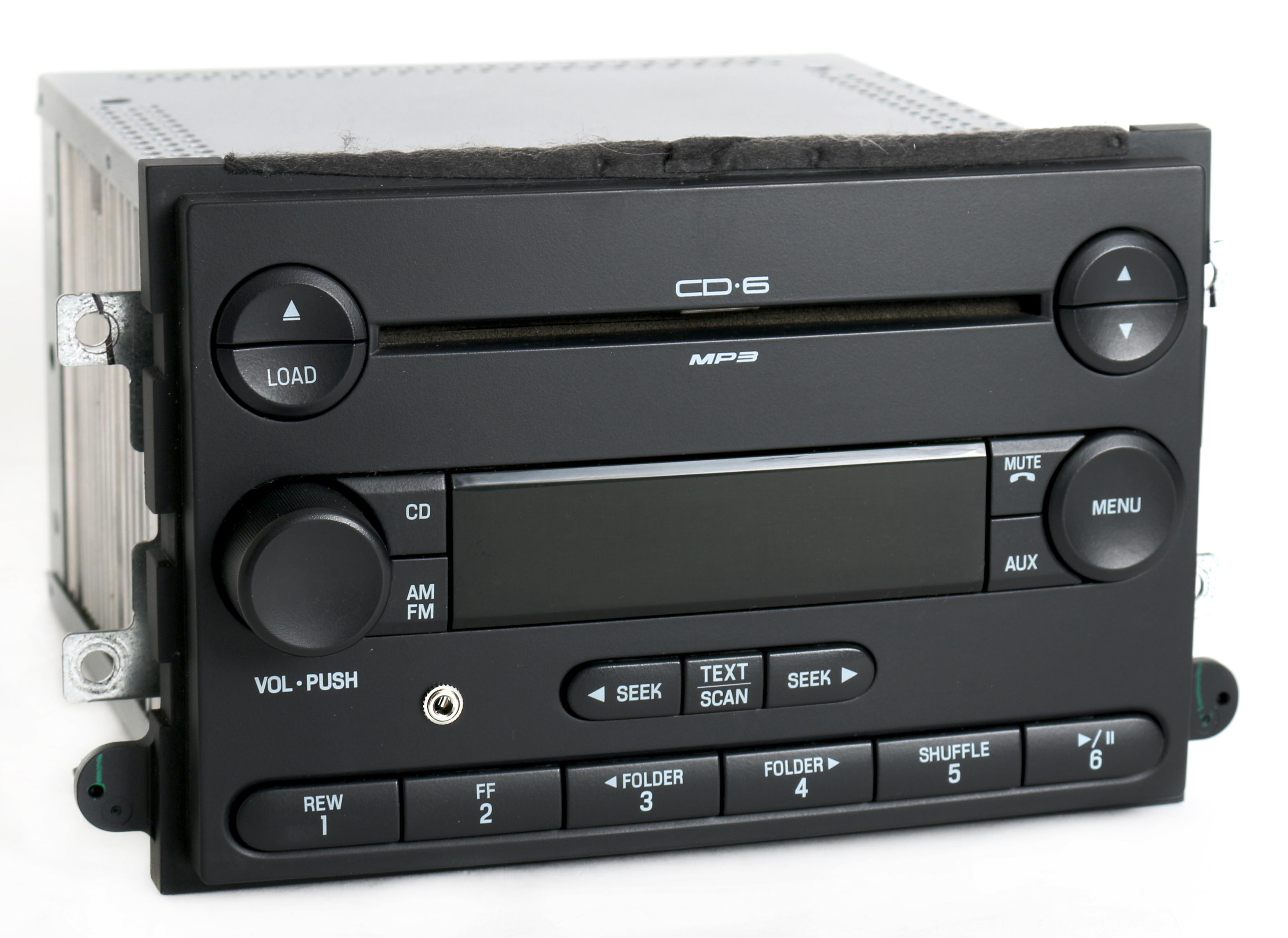 2007 mercury milan fusion am fm 6 disc cd radio w aux. Black Bedroom Furniture Sets. Home Design Ideas