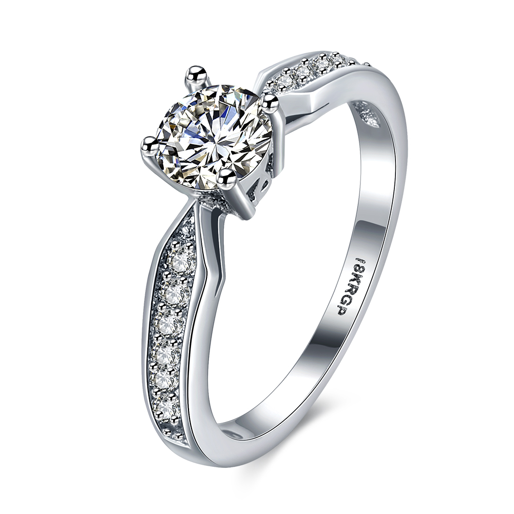 Cubic Zirconia Looped Ring