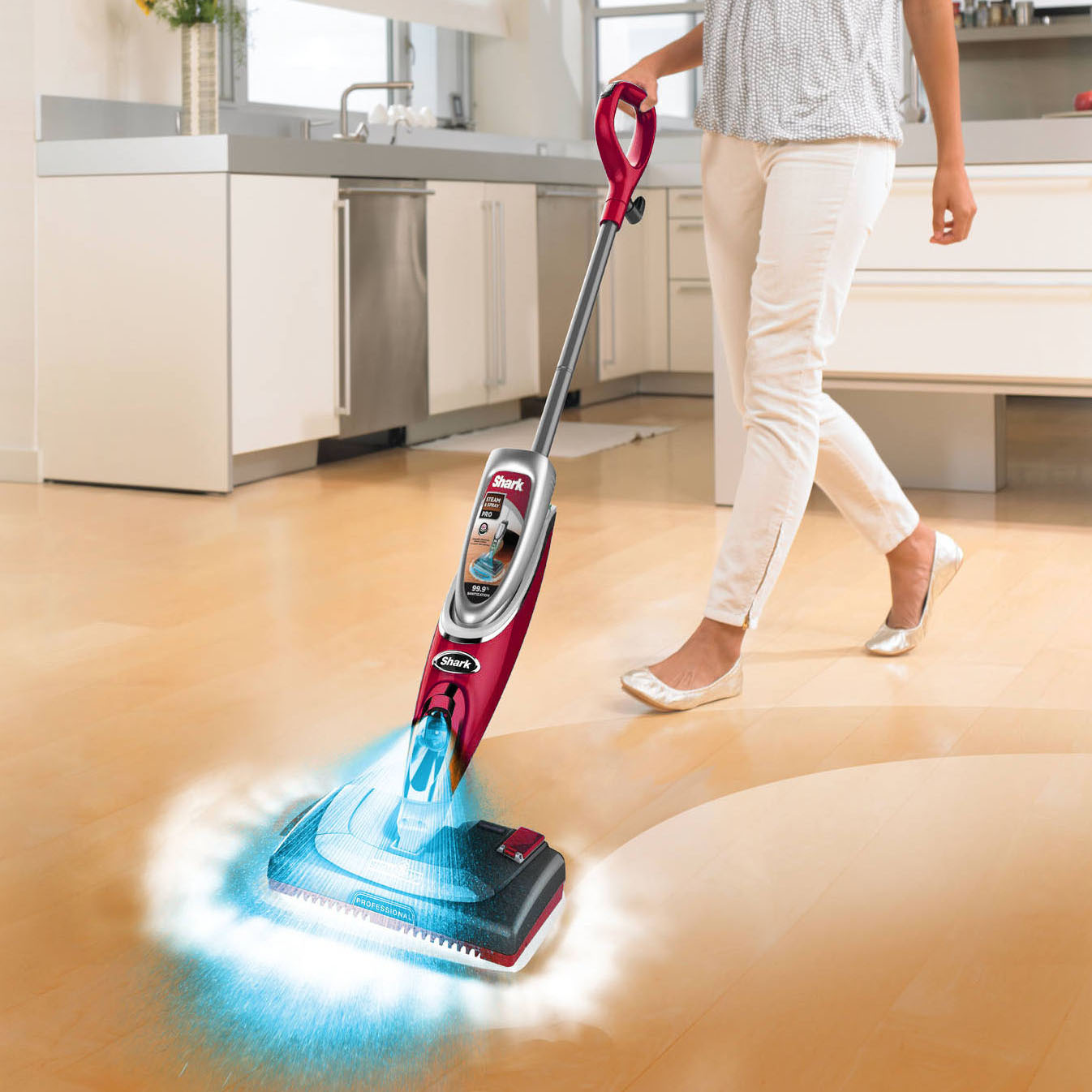 Shark Ss460d Steam Amp Spray Pro Mop W Electronic Steam