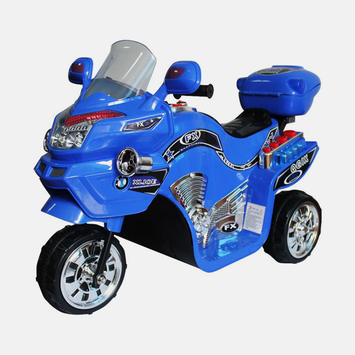 Lil  Rider 3 Wheel Battery Powered Bike - Blue