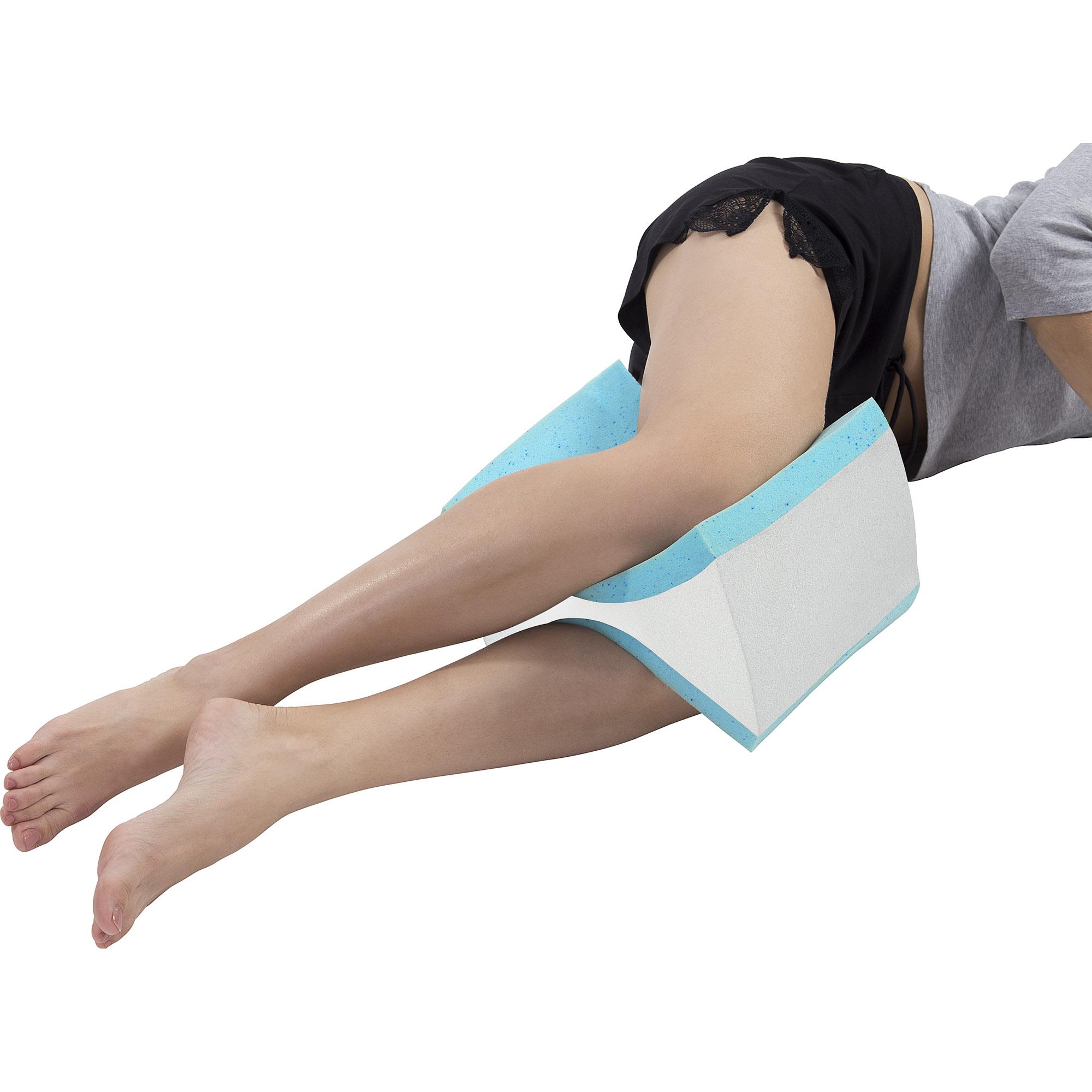 Pharmedoc Knee Pillow W Washable Pillow Case Tanga