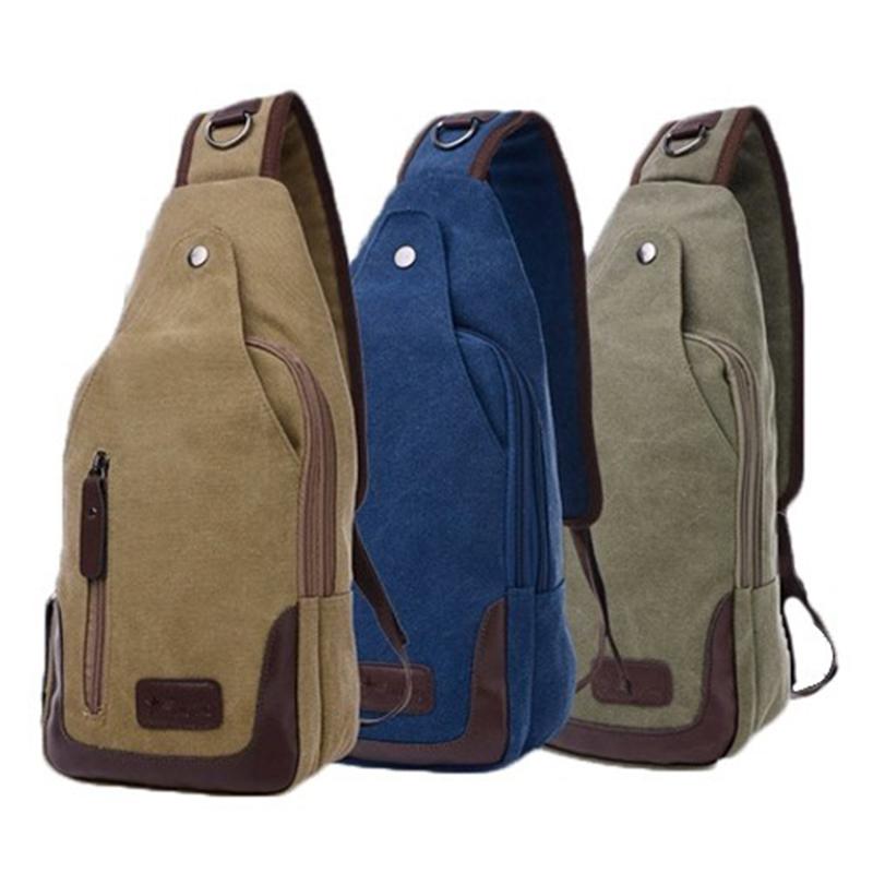 Valencia Canvas Shoulder Sling Bag - 5 Styles