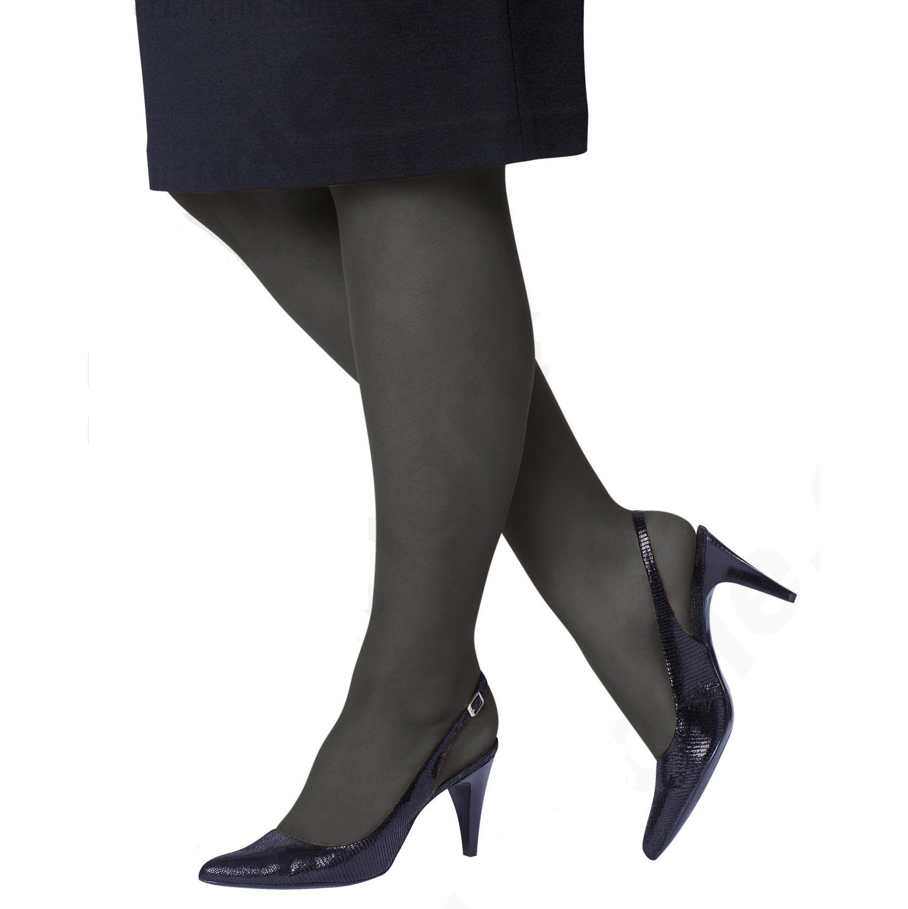 4-Pack Just My Size Control Top Reinforced Toe Pantyhose 1049439