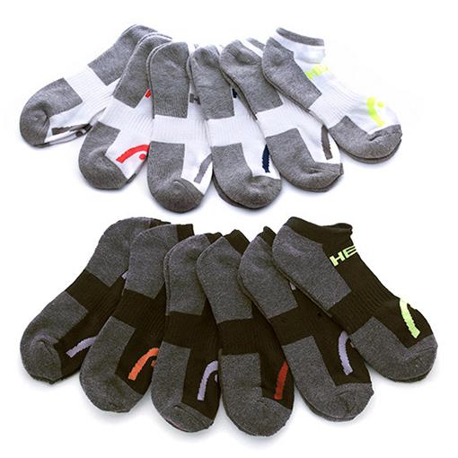 12 Pairs  Head Moisture-Wicking Socks