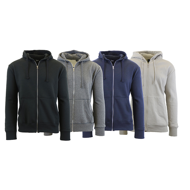 Men s Fleece Lined with Thermal Lined Hood (S-2X) 8f6d823a5309