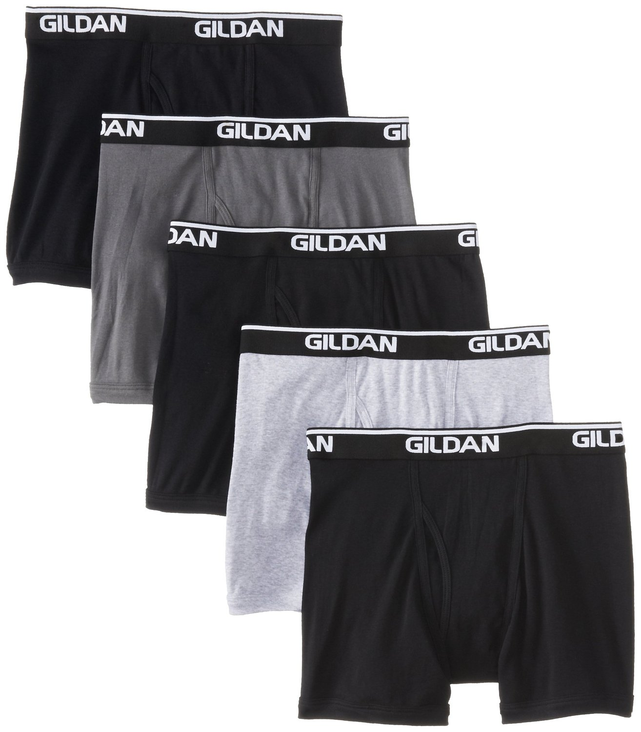 4-Pk Gildan Mens 100% Cotton Briefs