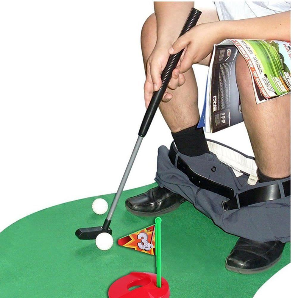 Creative Toilet Games - For Home, Dormitory and Office