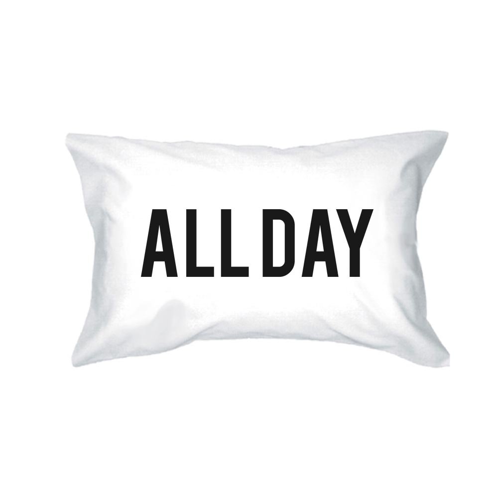 Funny Pillowcases Standard Size 20 x 31 - ZZZ  All Day Matching Pillow
