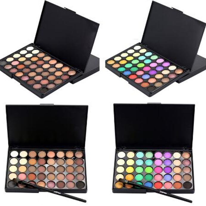 Eye Shadow Palette   Cosmetic Brush 8317304