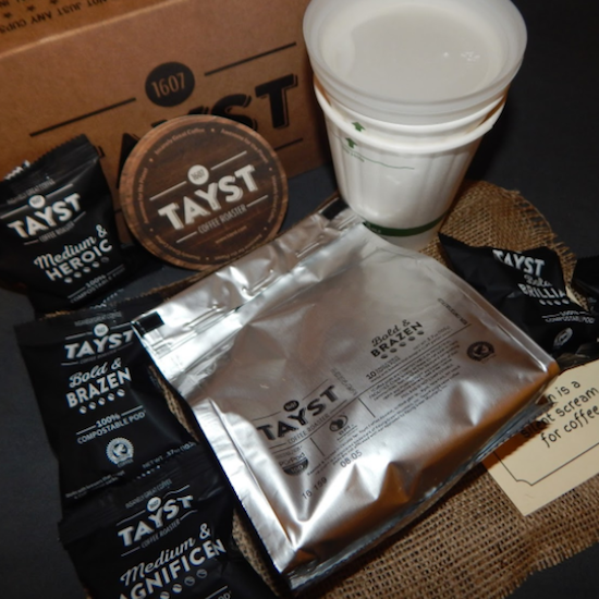Tayst Coffee Pods   60 Cup Sample Box    The Only  Green  K-Cup a695ecf0c578
