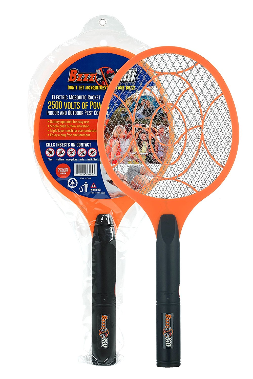 BzzzKill Electric Mosquito Swatter