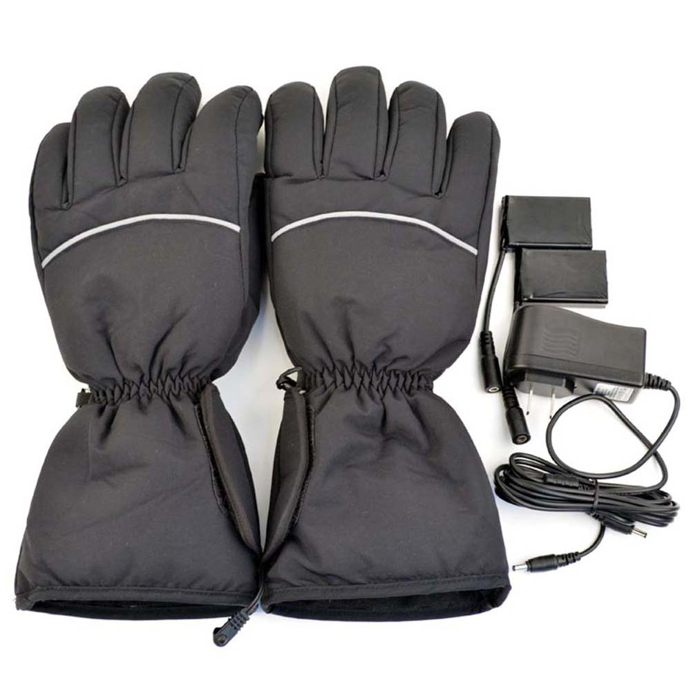 iPM Black Warm Unisex Electric Heated Gloves a2bbe40c3355