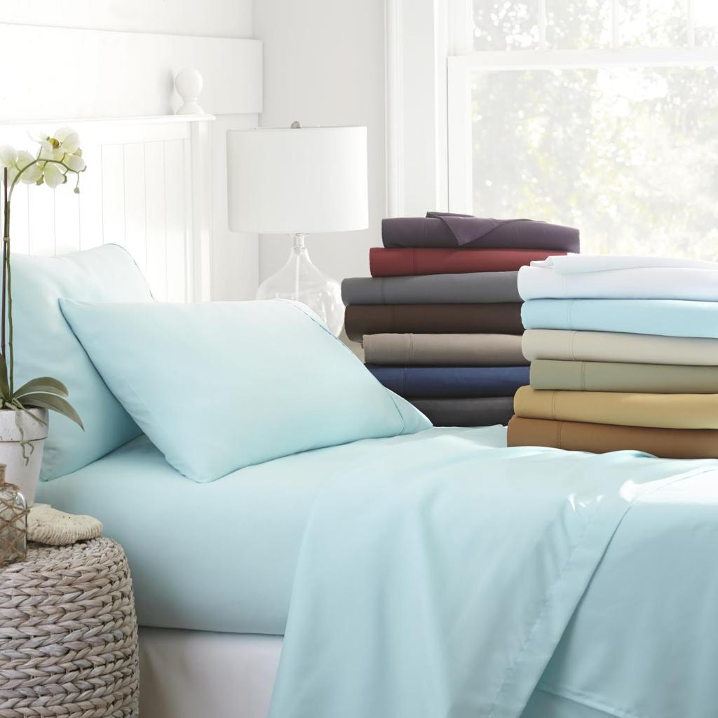 Merit Linens Ultra Soft 6 Piece Bed Sheet Set 8041656