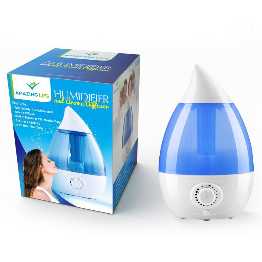 Ultrasonic Humidifier And Aroma Diffuser 2.0L 6518645