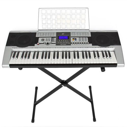 electronic piano keyboard 61 key piano with x stand heavy duty tanga