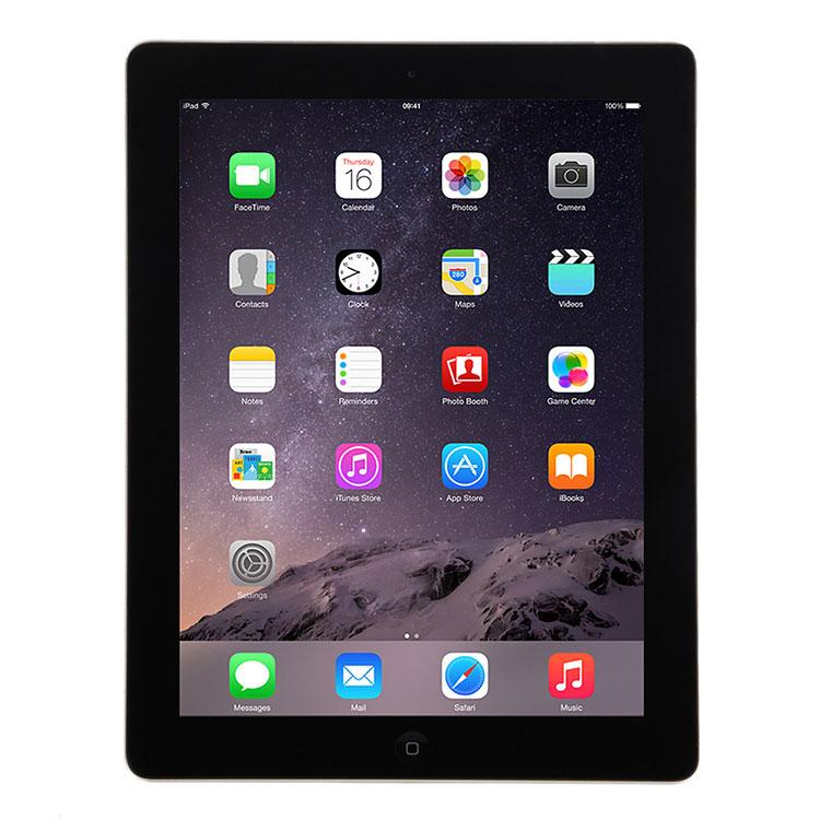Apple iPad 4 MD510LL A, 16GB WiFi Black (Grade B)
