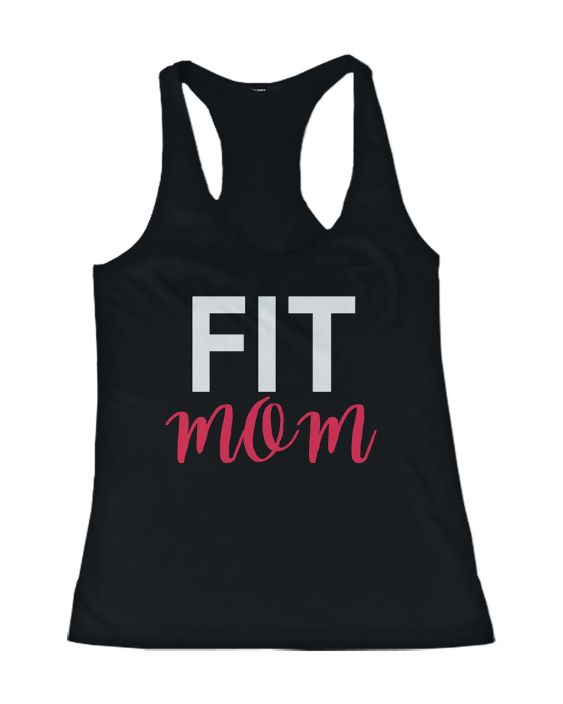 Fit Mom Work Out Tank Top