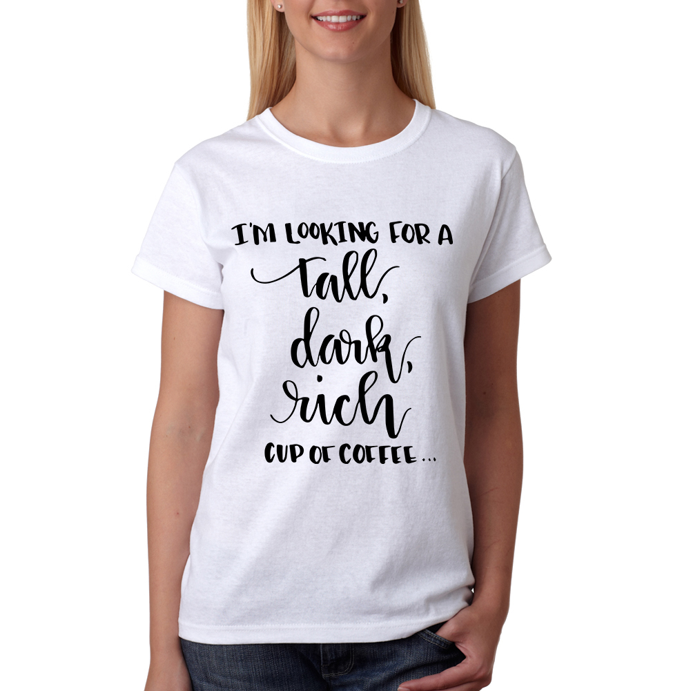 Tee Bangers Tall Dark Rich Coffee Cool T-shirt