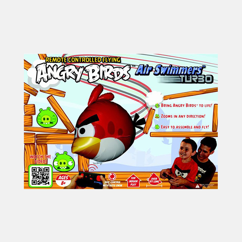 angry birds air swimmers turbo instructions