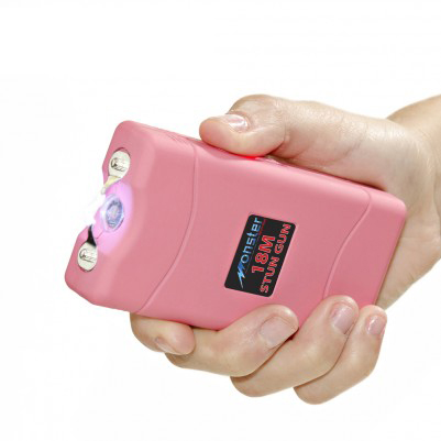 Monster Rechargeable Stun Gun W Led Light Tanga