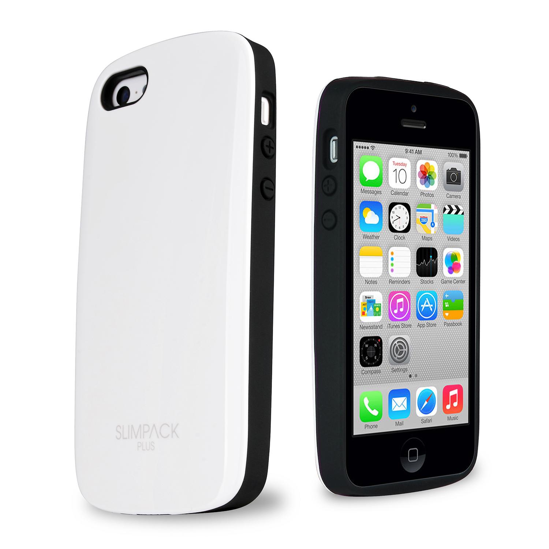 ToughCover Premium Plus iPhone 5C Case w  Hidden Card Slot [White]