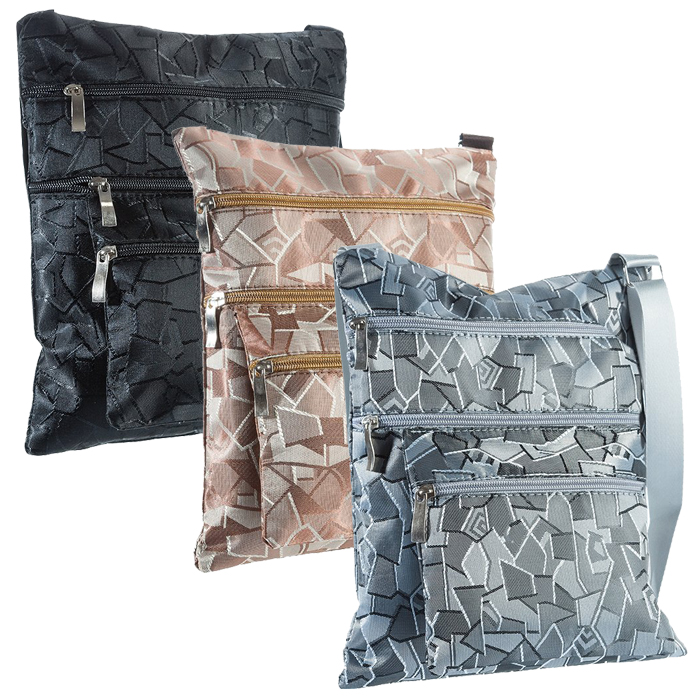 Suvelle Geometric Everyday Crossbody Bag
