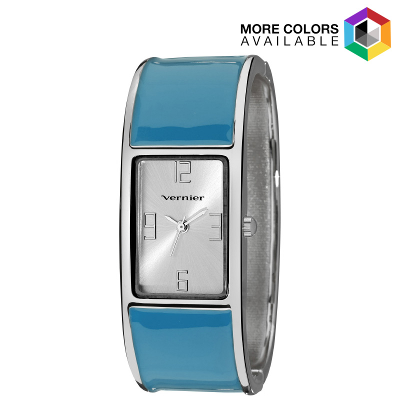 Women s Color Block Bangle Watch