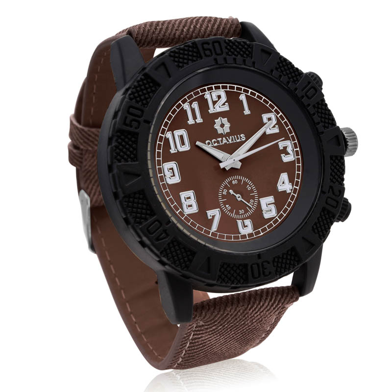 Octavius The Luthor Watch - Brown
