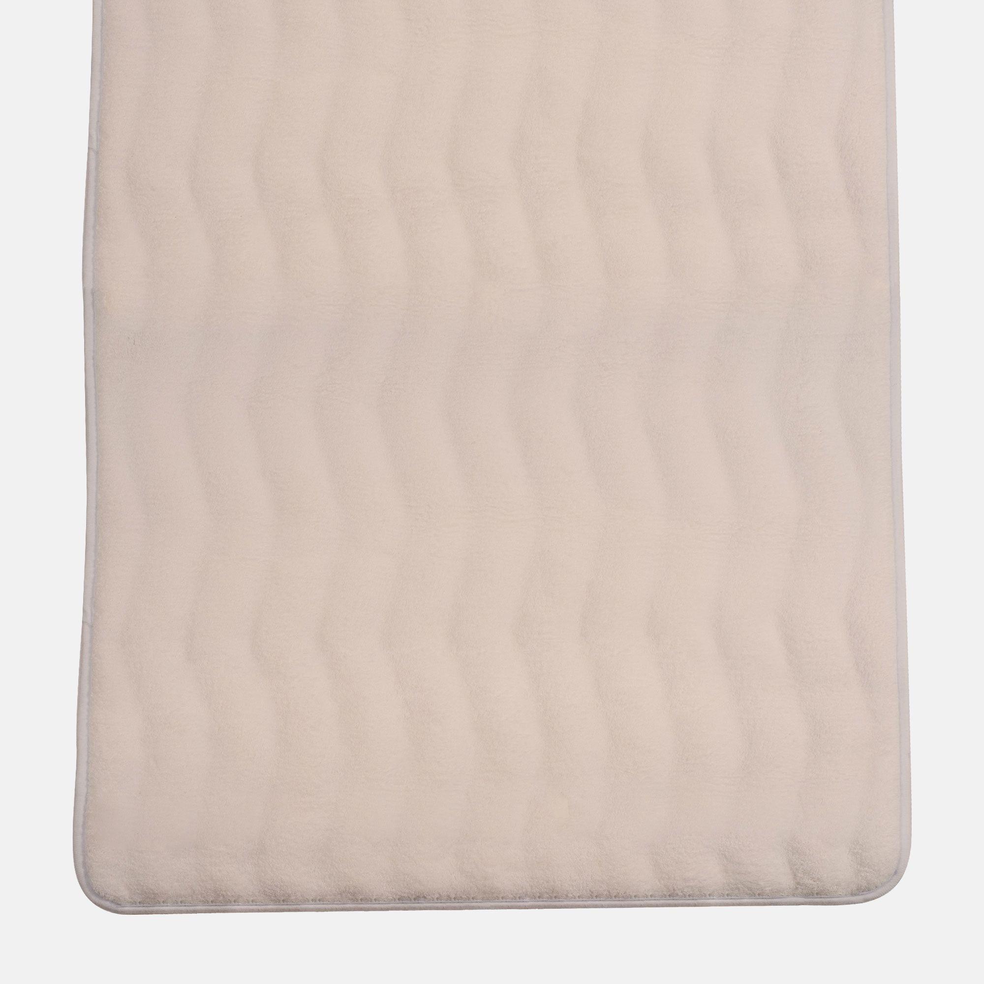 Lavish Home Memory Foam Extra Long Bath Mats Tanga