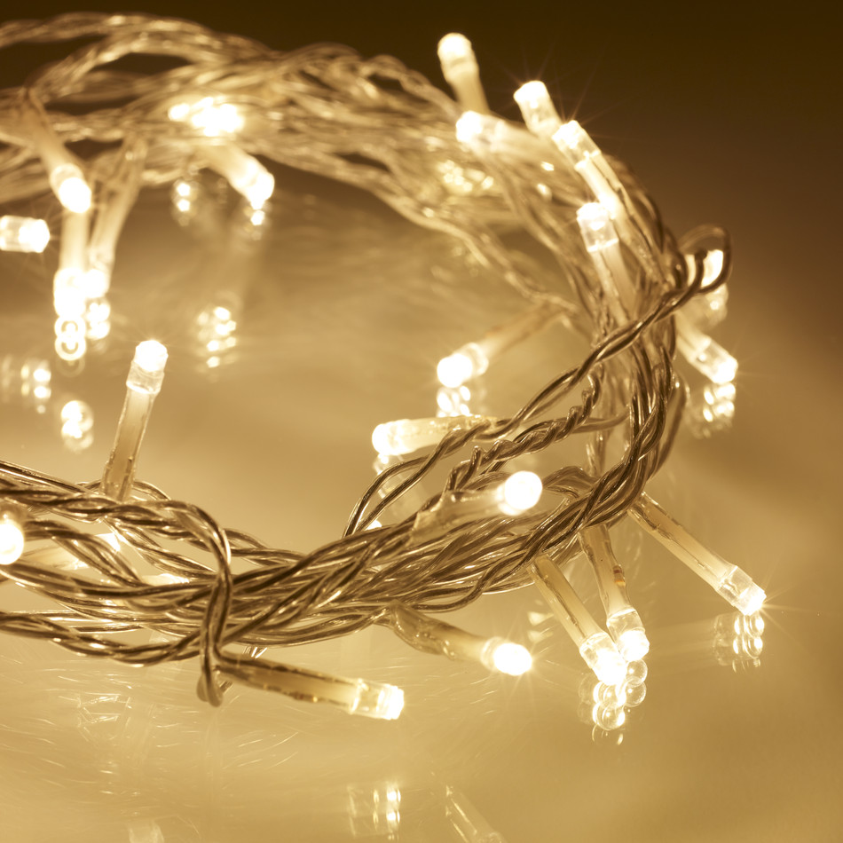 We Install Fairy Lights: 17 Meter String Of LED Solar-Powered Fairy Lights