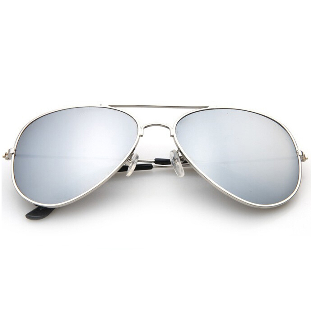 2-Pack Mens Mirrored Aviator Sunglasses