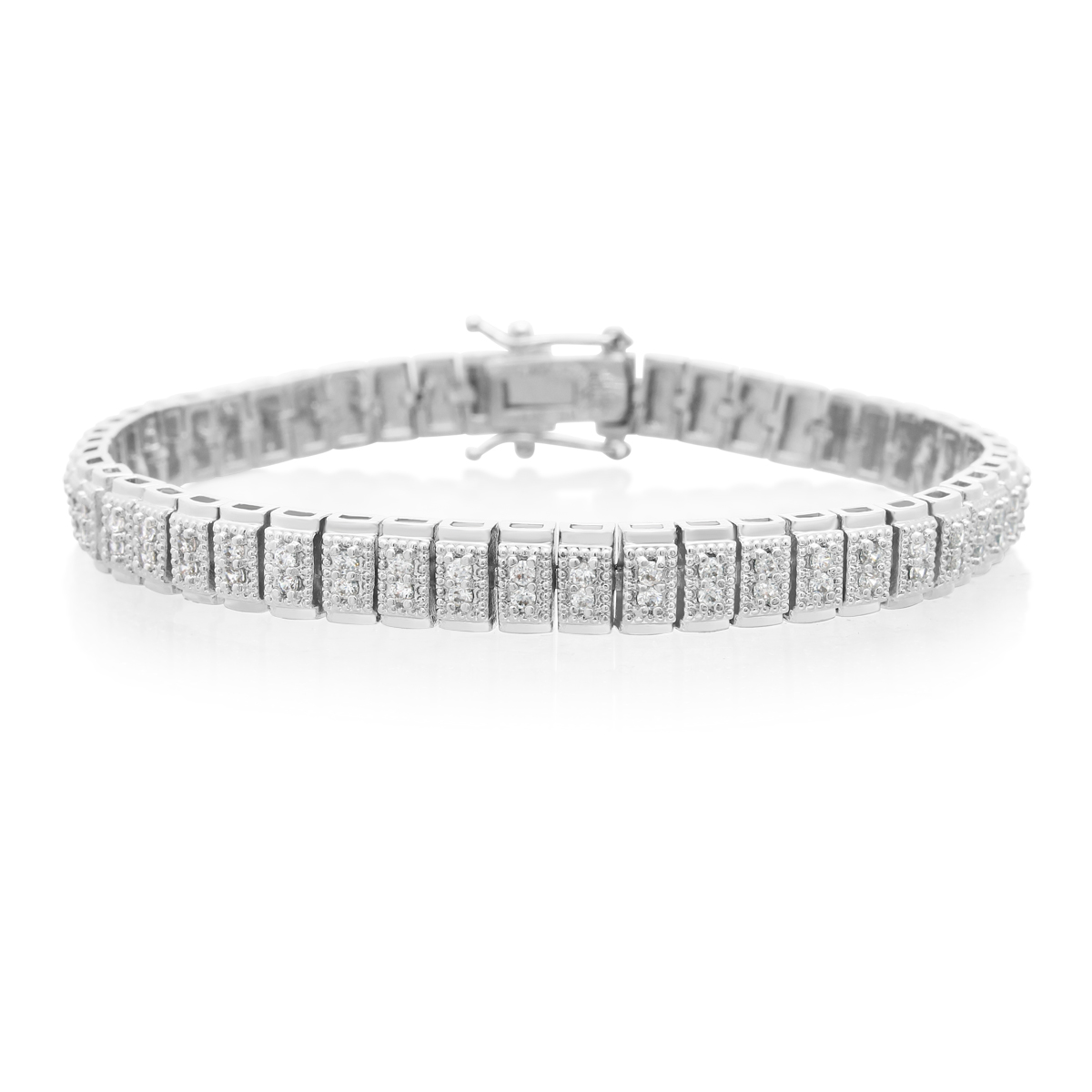 Double Row Diamond Tennis Bracelet 1.05cttw 6cae3e4d64b1