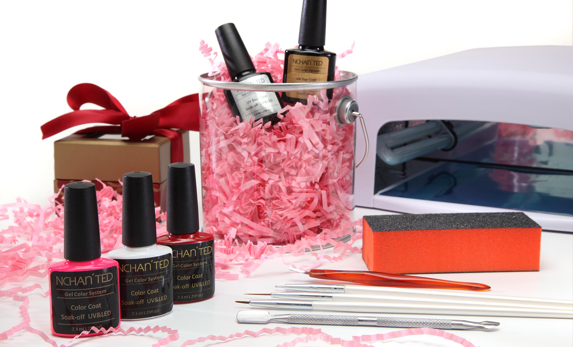 Be My Valentine Gel Nail Kit W  UV Dryer 14820