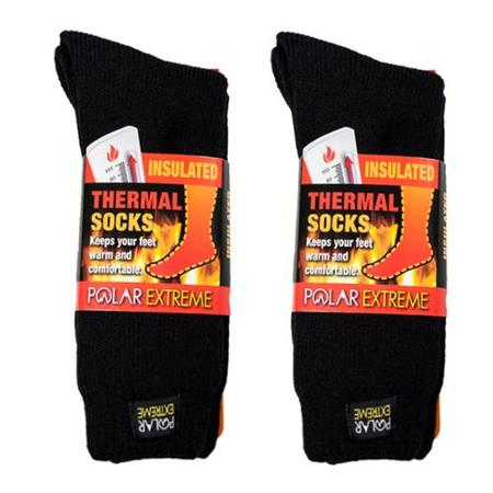 2 Pairs Polar Extreme Thermal Insulated Boot Socks 80bd718453f4