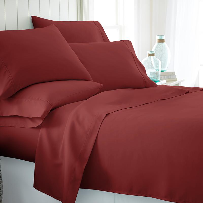 6 Piece  Becky Cameron Egyptian Comfort Sheet Set