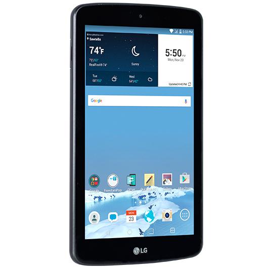 100% Free Internet w  7  LG G Pad 8GB Tablet (WiFi   LTE) - FreedomPop 13315