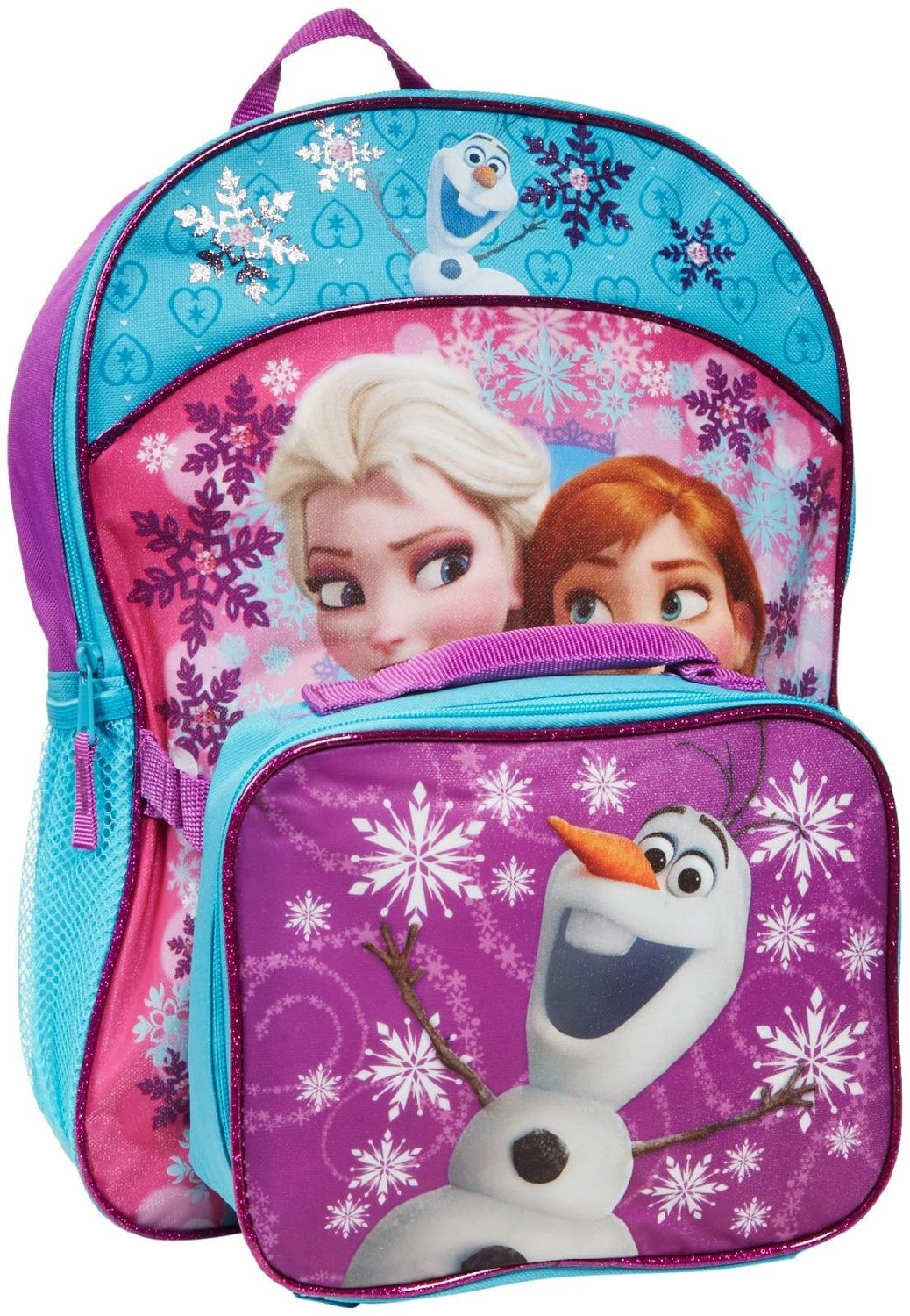 Disney Frozen Backpack with Matching Lunch Kit 14151