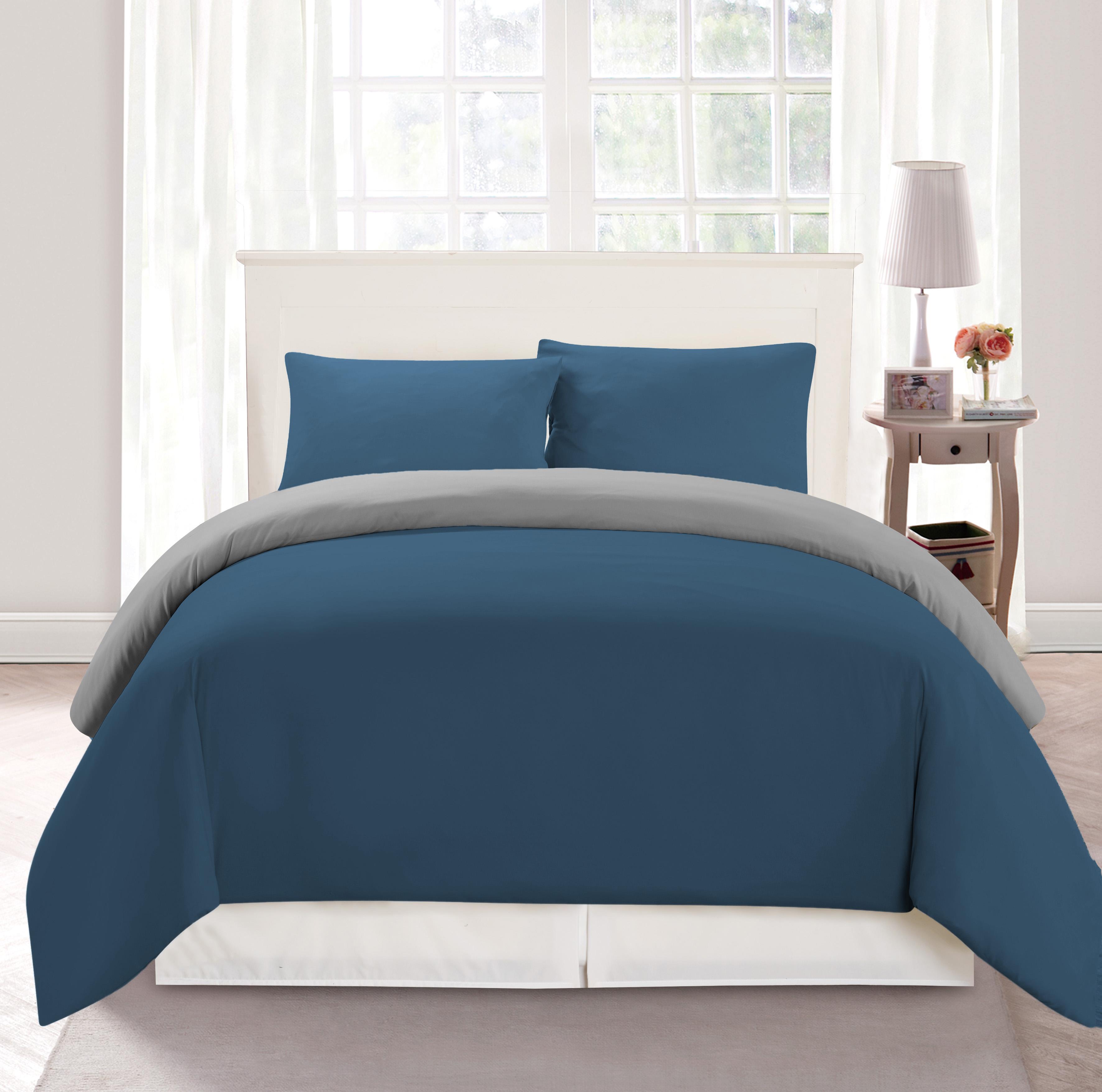 3-Piece Set  Reversible Ultra-Soft Comforter Set