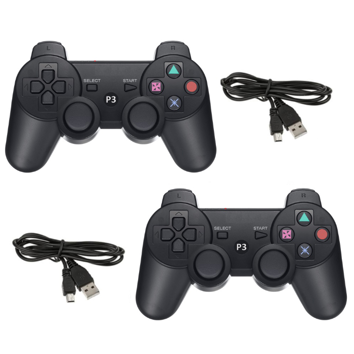 2-Pack  Sony PS3 Compatible Controllers by GAME-O