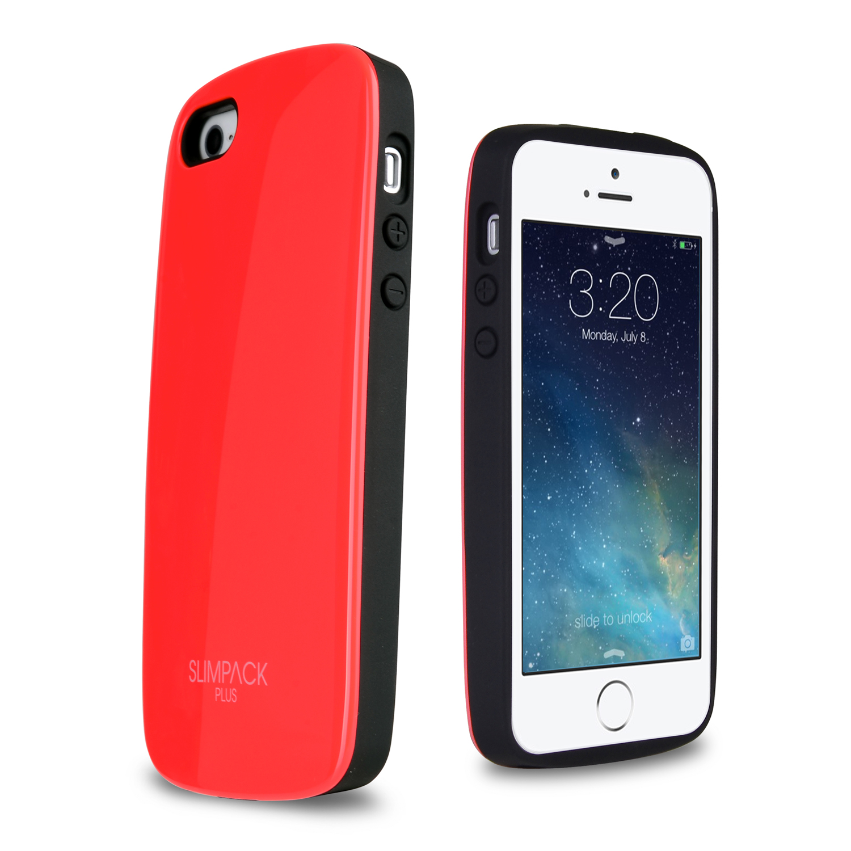 ToughCover Premium Plus iPhone 5 5S Case w  Hidden Card Slot [Red]