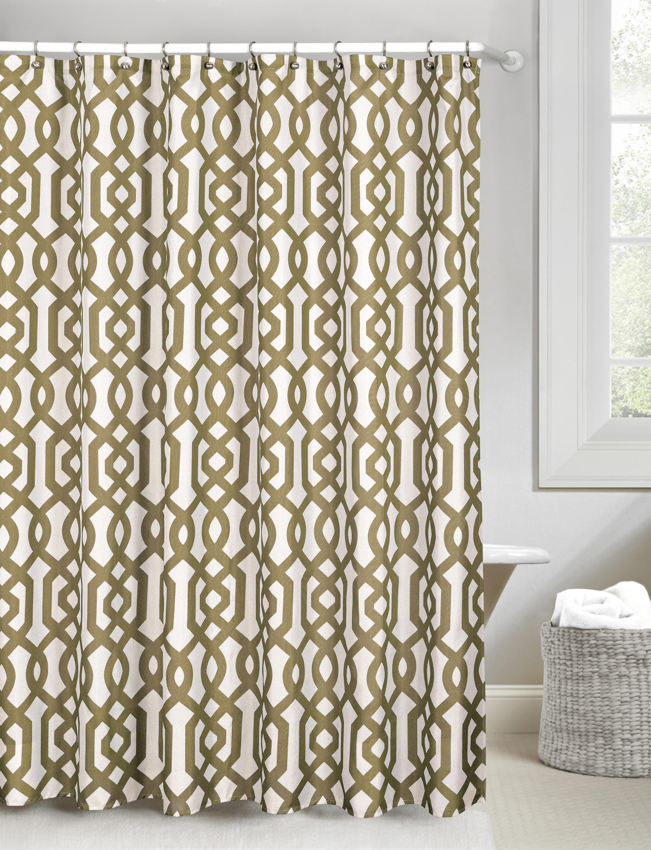 Ashmont Canvas Shower Curtain Set - Tanga